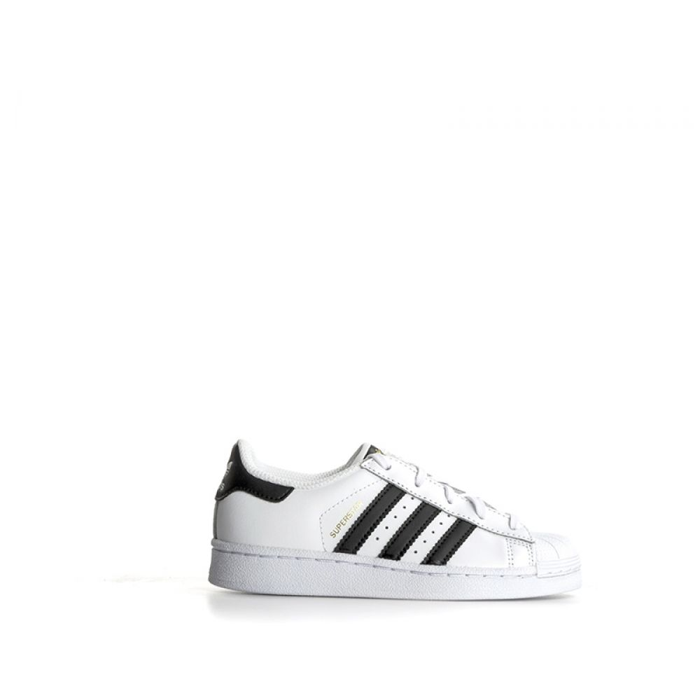 huge selection of 68ce5 f66b8 ADIDAS SUPERSTAR FOUNDATION Sneaker bambino bianca nera