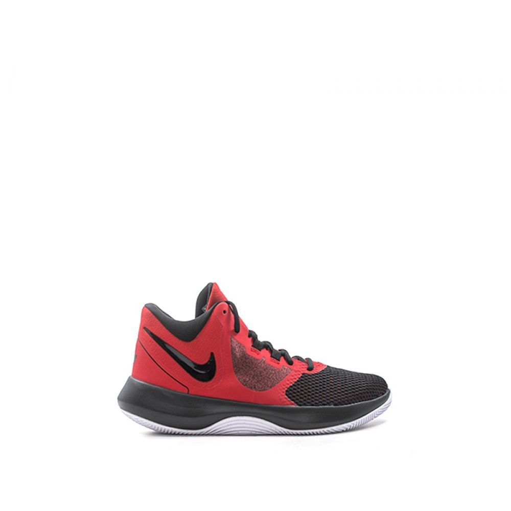new style 17a48 2cf92 NIKE AIR PRECISION II Scarpa basket uomo rossa in tessuto