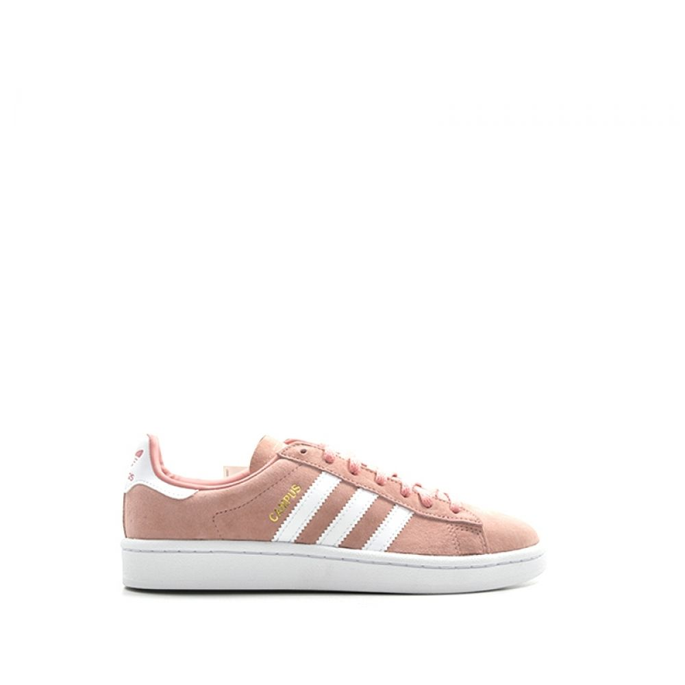 finest selection e466b dfcf8 ADIDAS CAMPUS Sneaker donna rosa bianca in suede