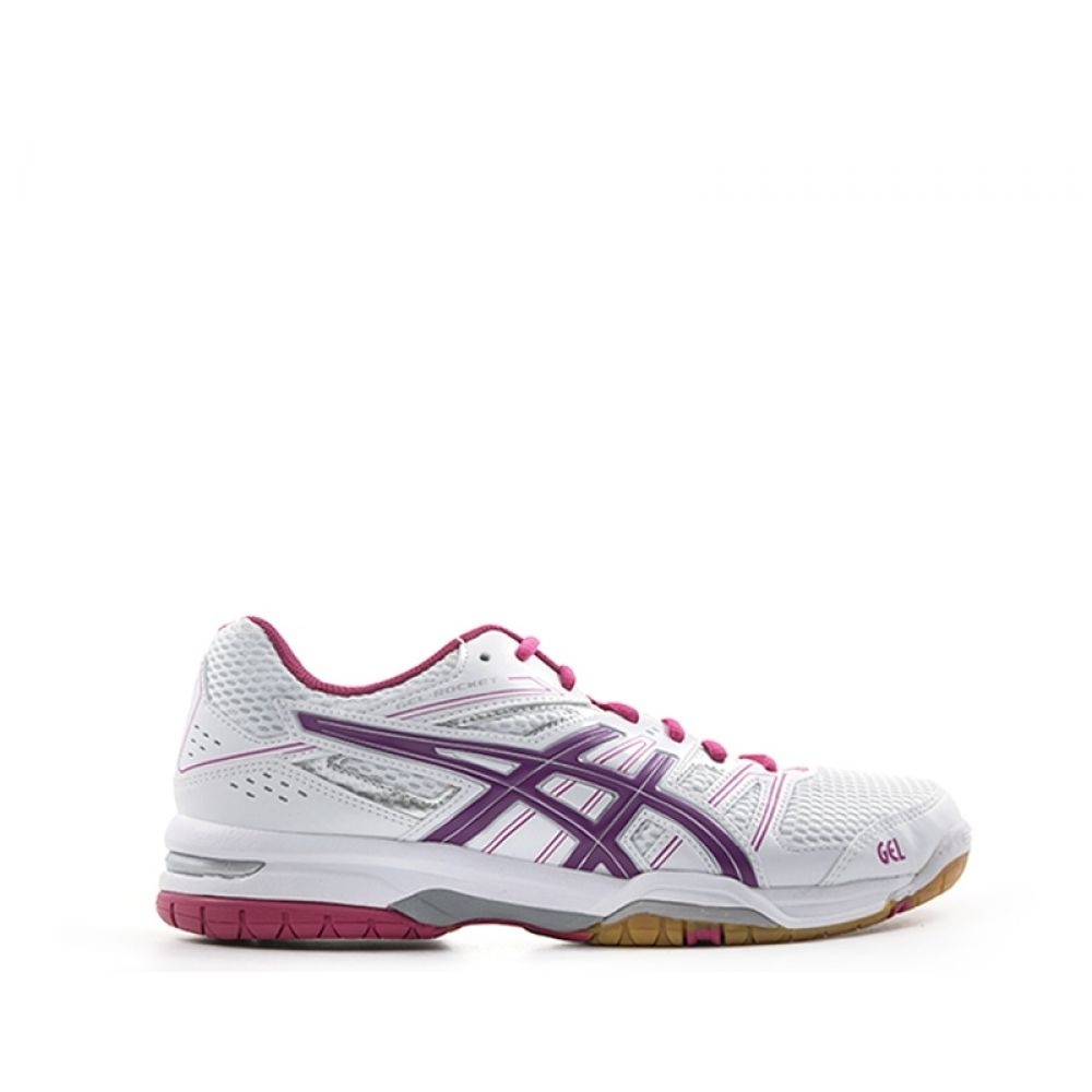 ASICS GEL ROCKET 7 Scarpa volley donna biancarosa tessuto