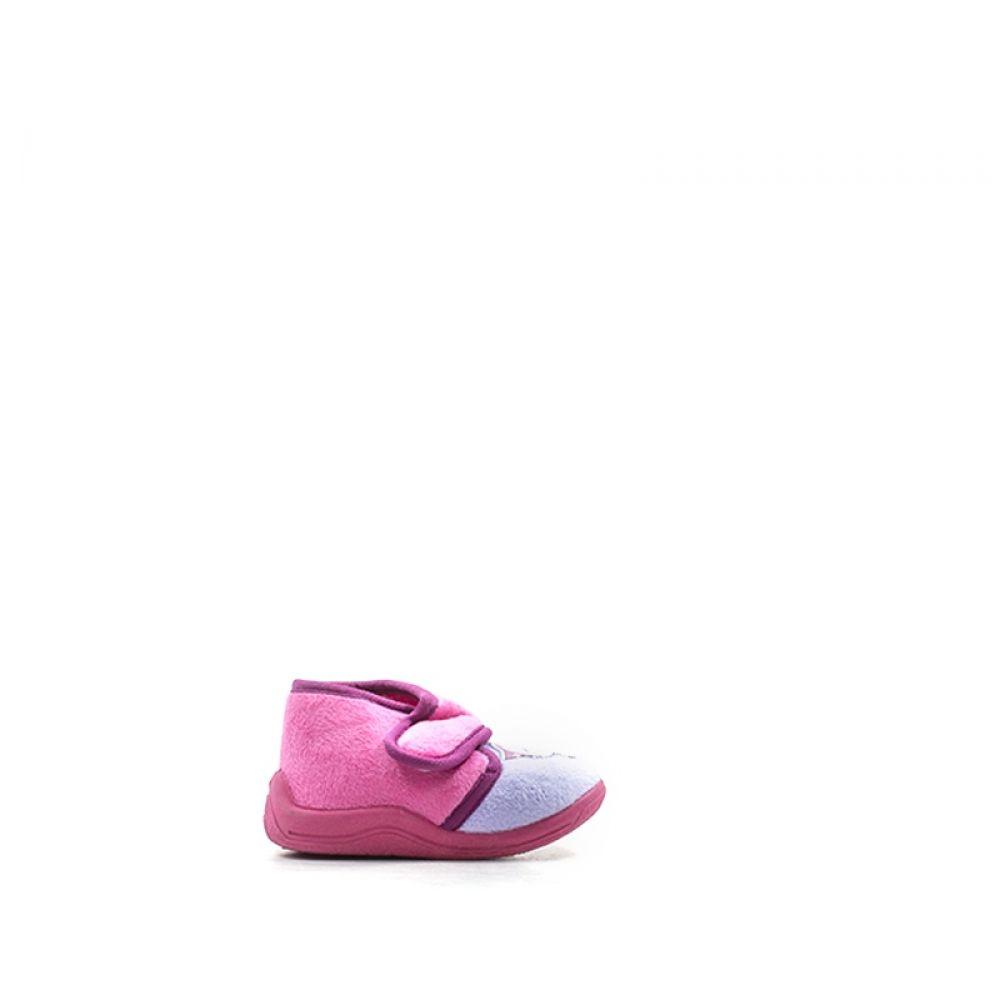 BEST BUY SHOES Pantofola bimba rosa in tessuto