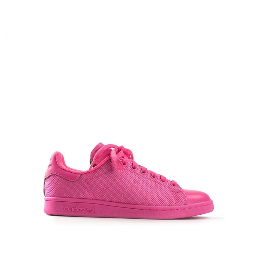 ADIDAS STAN SMITH Sneaker donna fucsia in tessuto