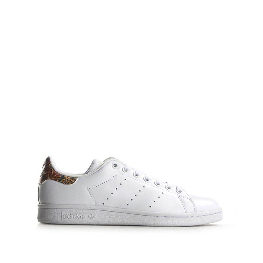 ADIDAS STAN SMITH W Sneaker donna bianca in pelle