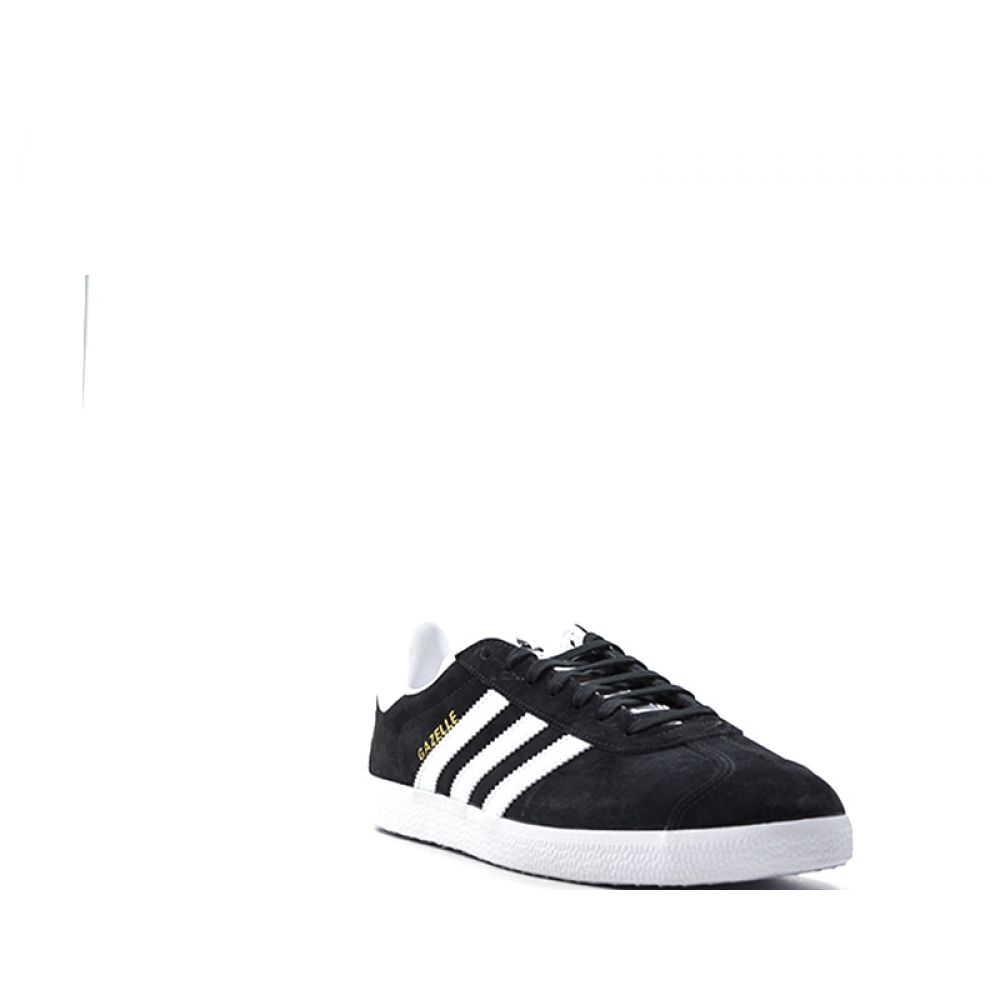sports shoes 72b8c 1511a cheap adidas gazzelle sneaker donna nera bianca in suede 2aa21 c8e6f