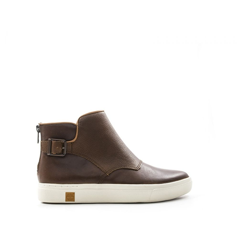 TIMBERLAND Beatles donna marrone in pelle