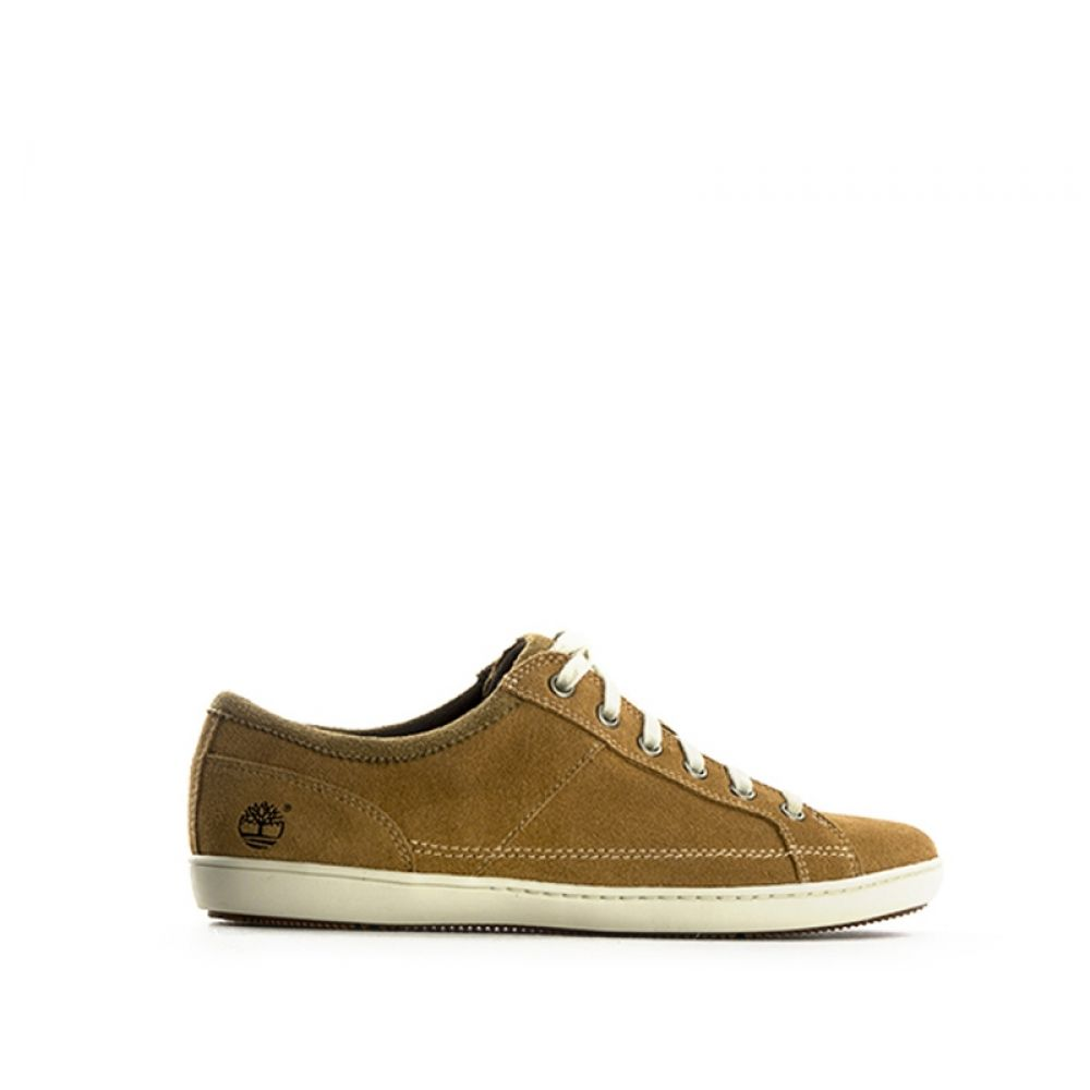 9d9b7bd832 TIMBERLAND Sneaker donna cuoio in suede