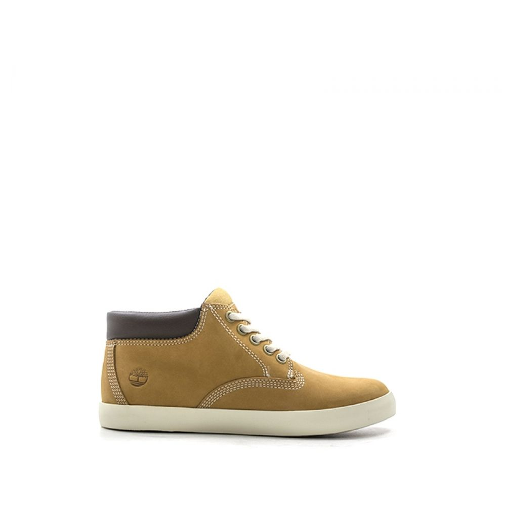 TIMBERLAND Sneaker donna gialla in pelle
