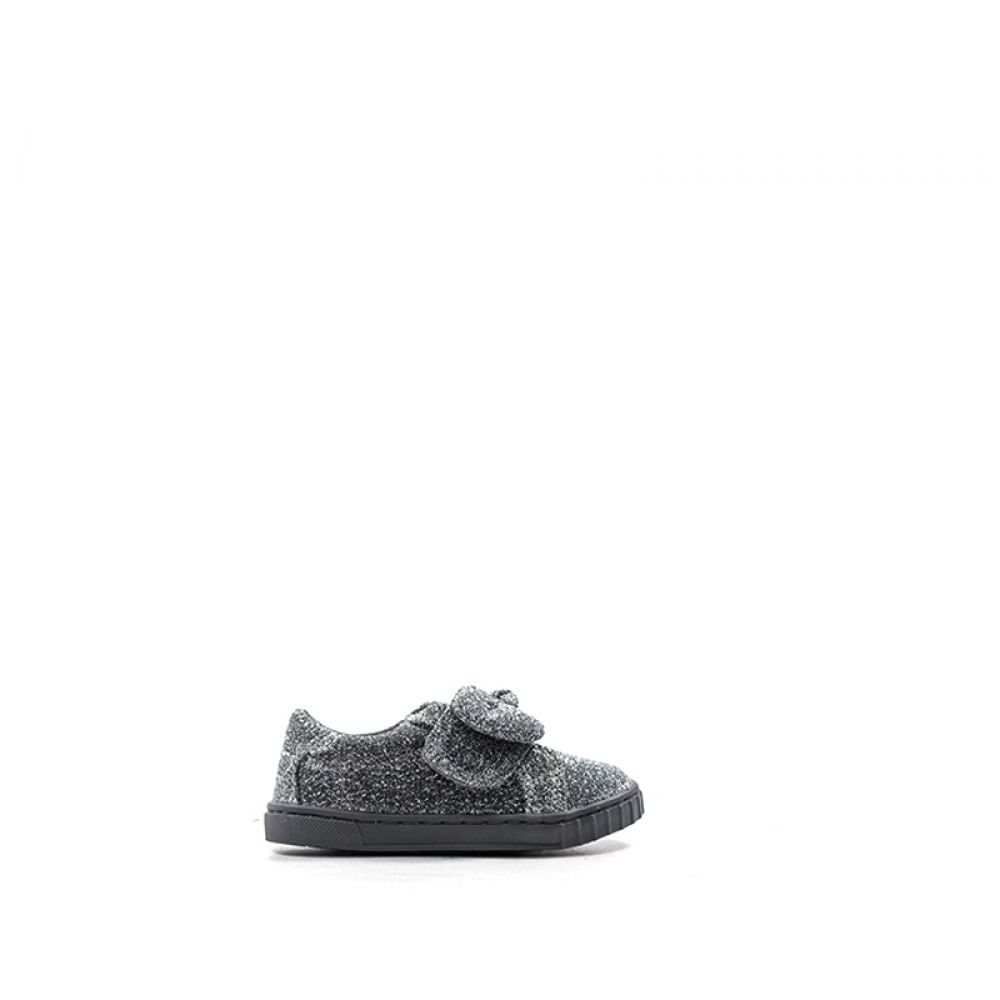 low priced 0a40a 9f7b4 CHICCO Sneaker bimba argento in tessuto