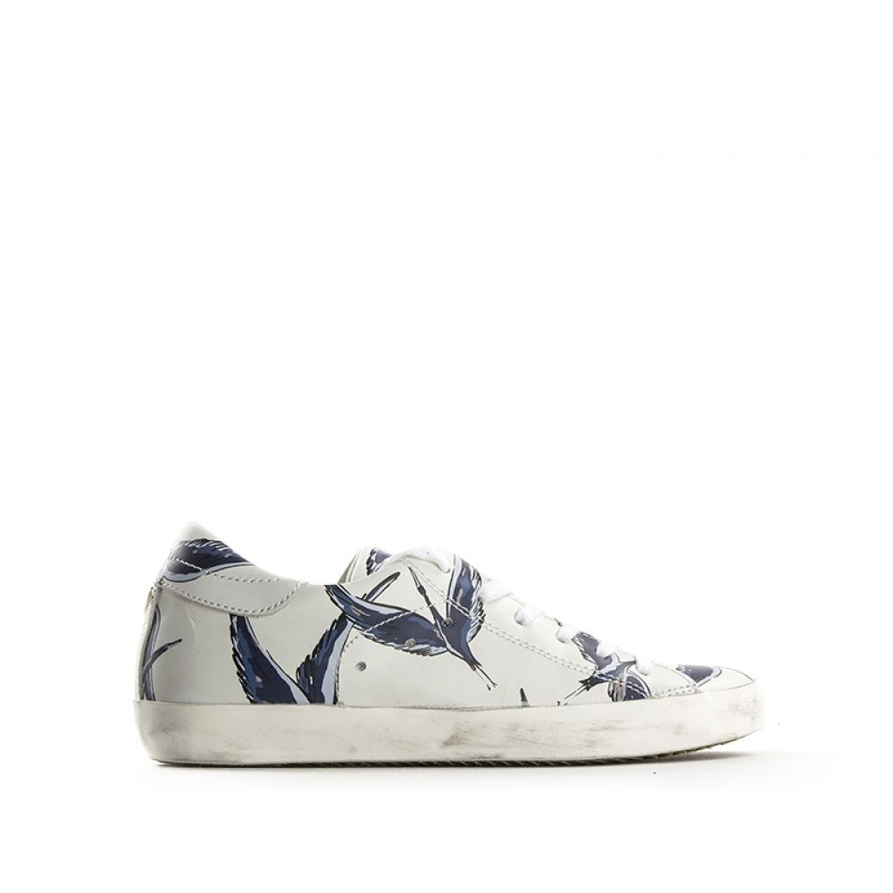 PHILIPPE MODEL Sneakers Trendy donna bianco/blu wdu5s04G