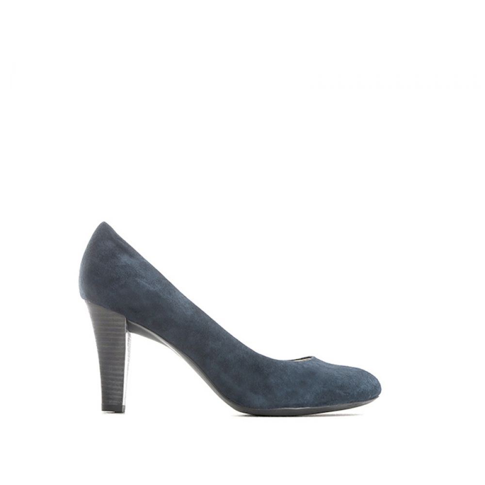 498686ea702bf GEOX Décolleté donna blu in suede