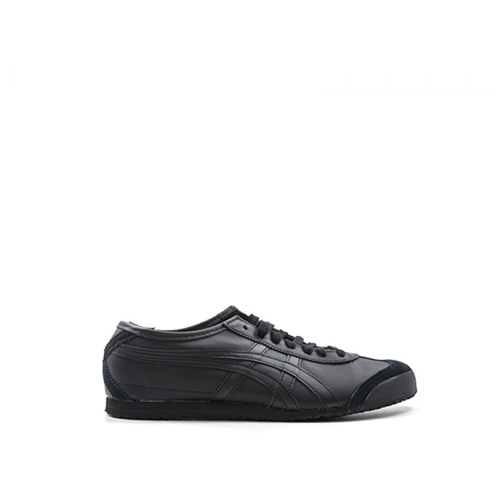 best service 8582a 4aa53 ONITSUKA TIGER MEXICO 66 Sneaker donna nera in pelle