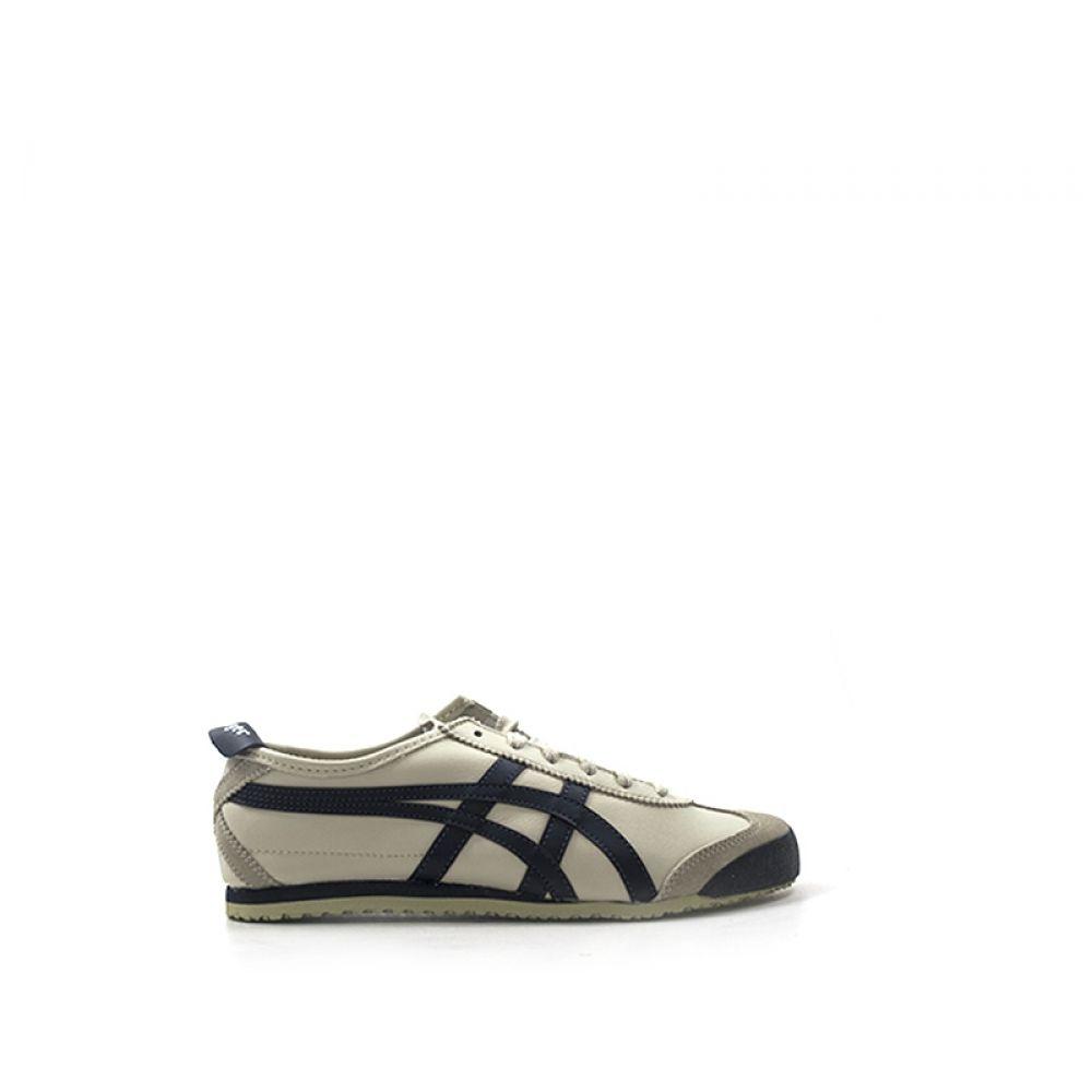 ONITSUKA TIGER MEXICO 66 Sneaker uomo beige blu in pelle 60859039b73