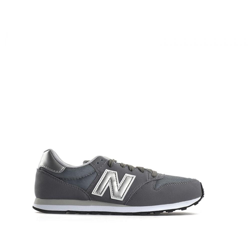 NEW BALANCE 500 Sneaker uomo grigia in suede e tessuto