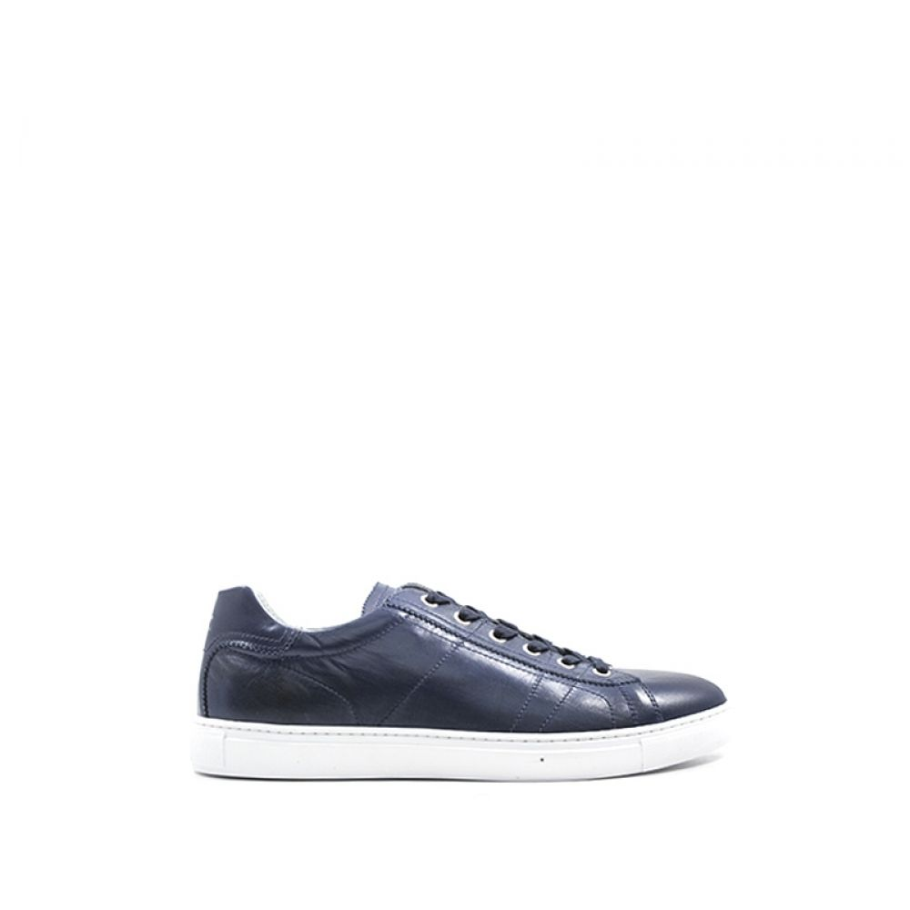 race cat The office  NERO GIARDINI Sneaker uomo blu pelle | Quellogiusto Shop online
