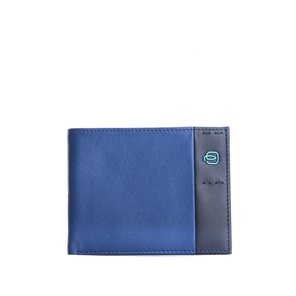 164e038f30149f PIQUADRO Portafoglio blu elettrico uomo pelle | Quellogiusto Shop online