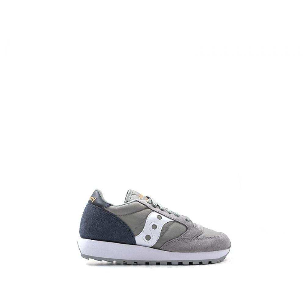SAUCONY JAZZ ORIGINAL Sneaker donna grigia suede tessuto