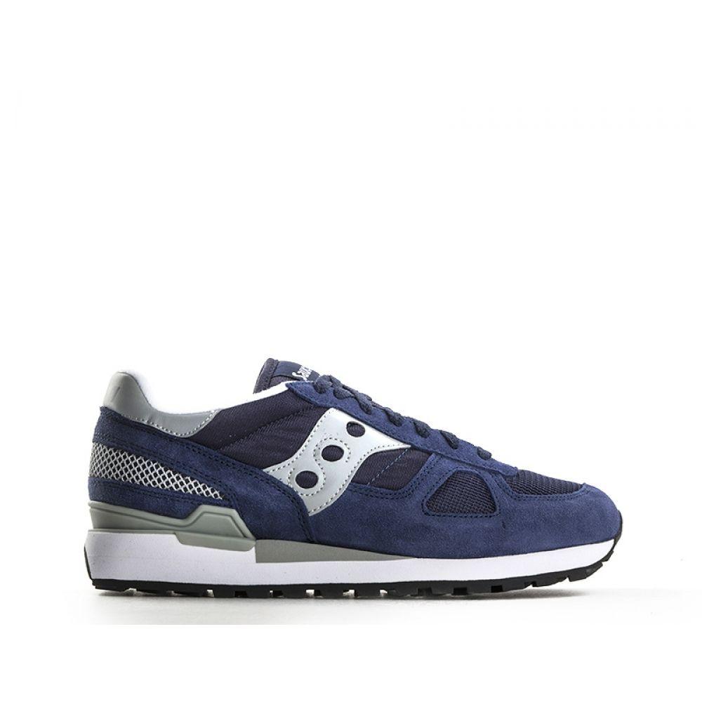 l'atteggiamento migliore ee360 eea57 SAUCONY SHADOW ORIGINAL Sneaker uomo blu suede e tessuto