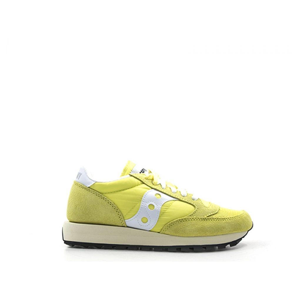SAUCONY JAZZ ORIGINAL VINTAGE Sneaker donna gialla in suede