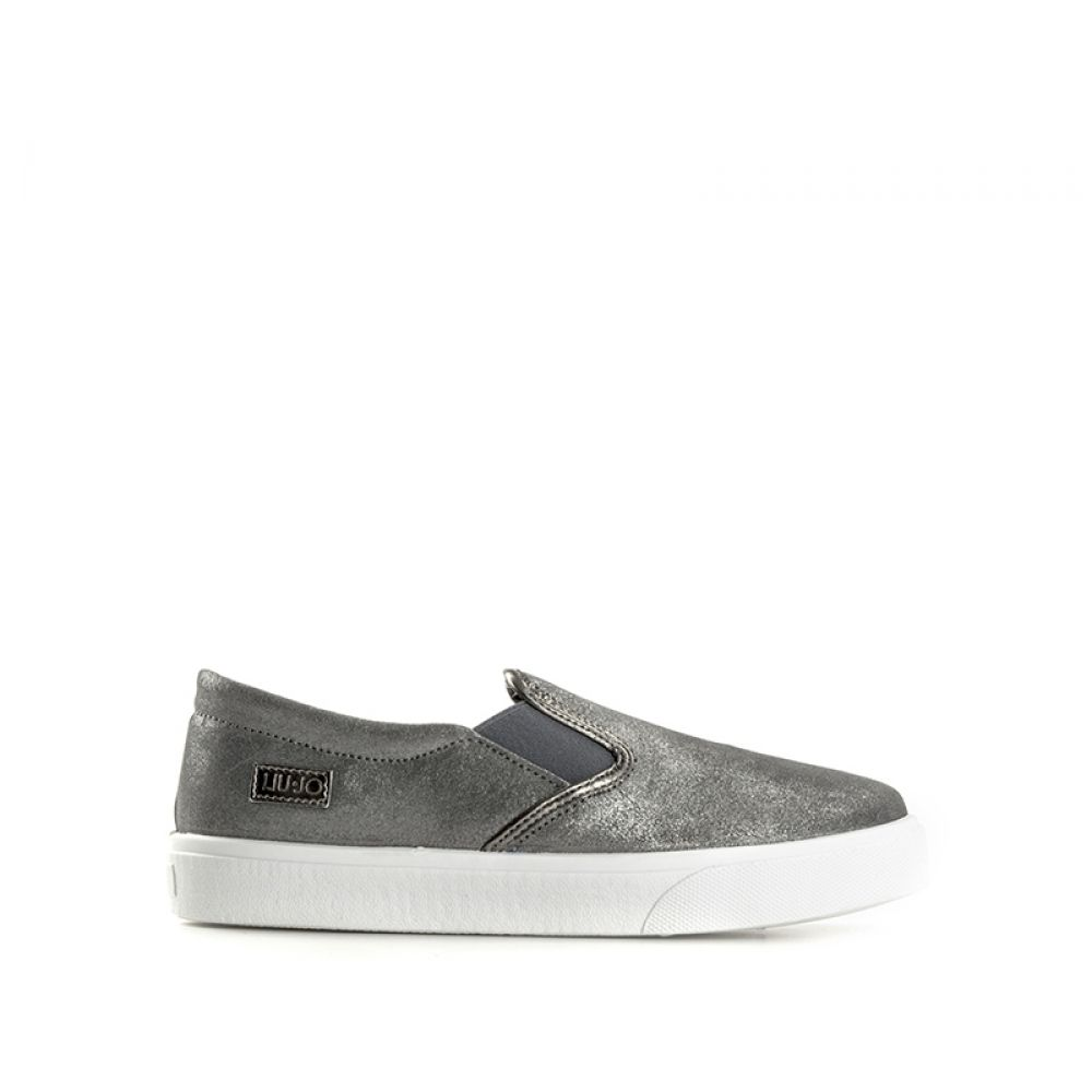 LIU JO Slip on donna grigia in pelle 369cdd263d6