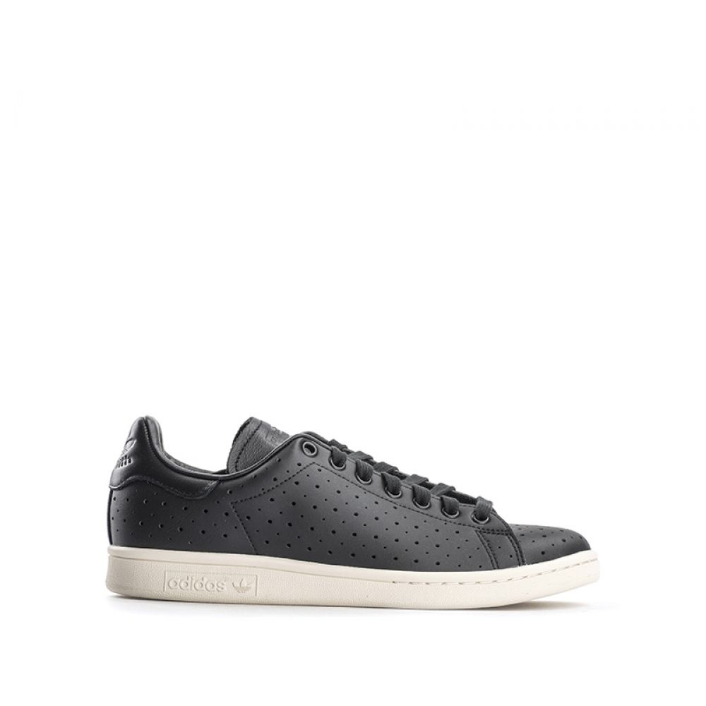 ADIDAS STAN SMITH Sneaker uomo nera in pelle