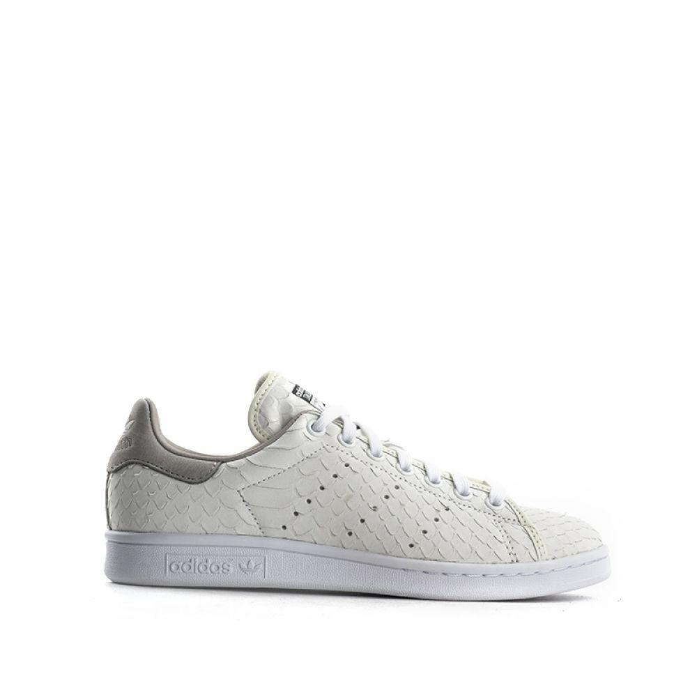 Pelle Sneaker Stan Adidas Smith SquameQuellogiusto Donna Bianca QBoxCWrdeE