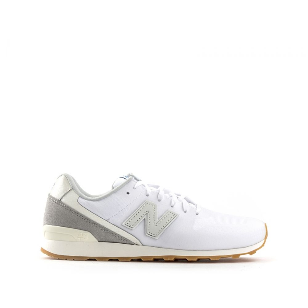 99a6b039277a3 NEW BALANCE 996 Sneaker donna bianca in tessuto