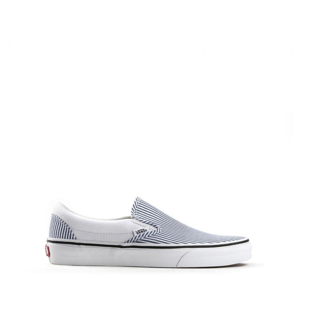 VANS SLIP ON Sneaker donna in tessuto stampa righe | Quellogiusto ...