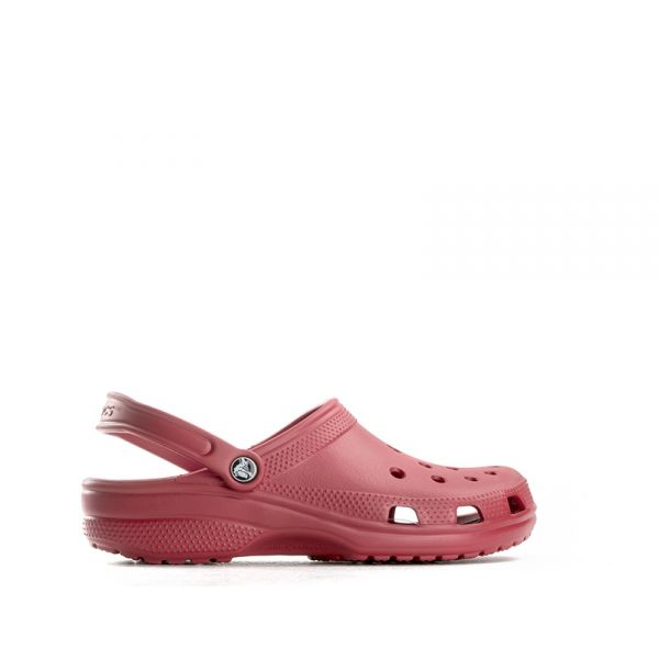 CROCS CLASSIC Sabot uomo rosso in gomma