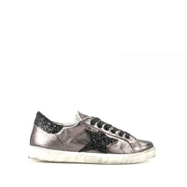 EASY PEASY Sneaker donna bronzo/nera in similpelle
