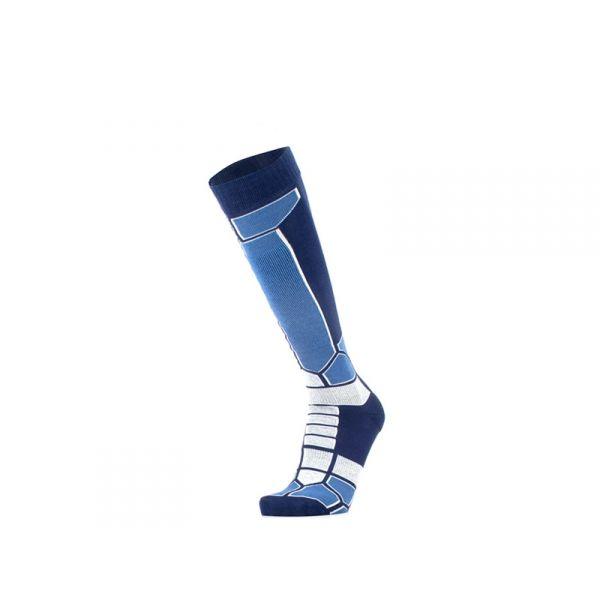 GM Calzino unisex blu/azzurro lungo