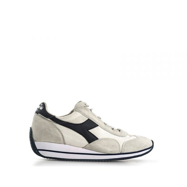 DIADORA HERITAGE EQUIPE Sneaker donna grigia in suede