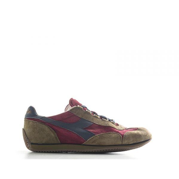 DIADORA HERITAGE EQUIPE Sneaker uomo bordeaux/marrone