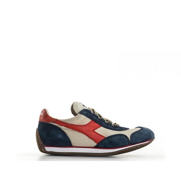 DIADORA HERITAGE EQUIPE Sneaker donna grigia/blu in suede