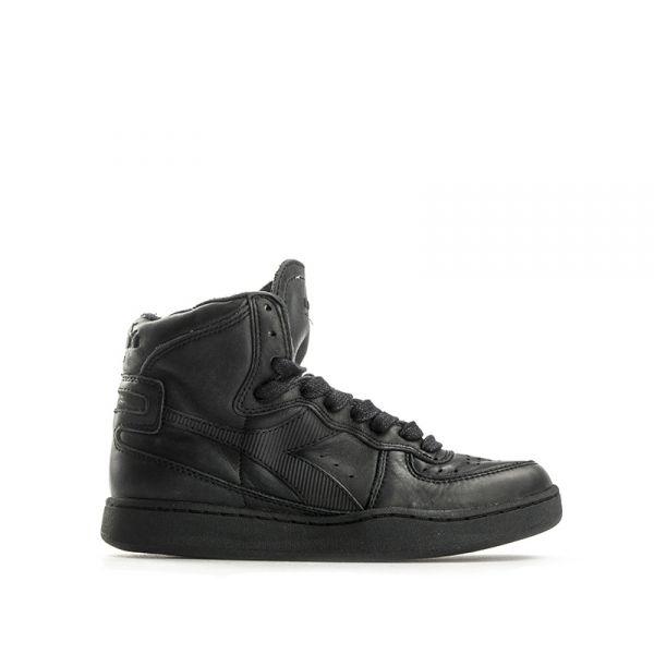 DIADORA HERITAGE Sneaker donna nera in pelle