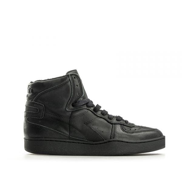 DIADORA HERITAGE Sneaker uomo nera in pelle