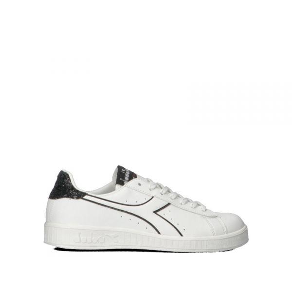 DIADORA GAME P WN Sneaker donna bianca/nera