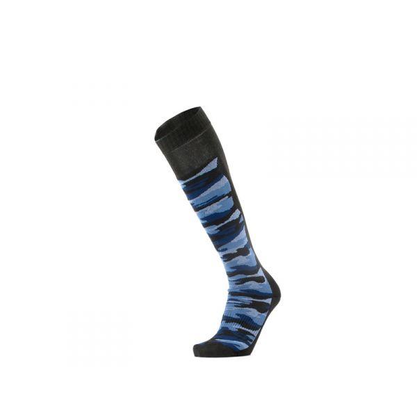 GM Calzino unisex nero/blu lungo