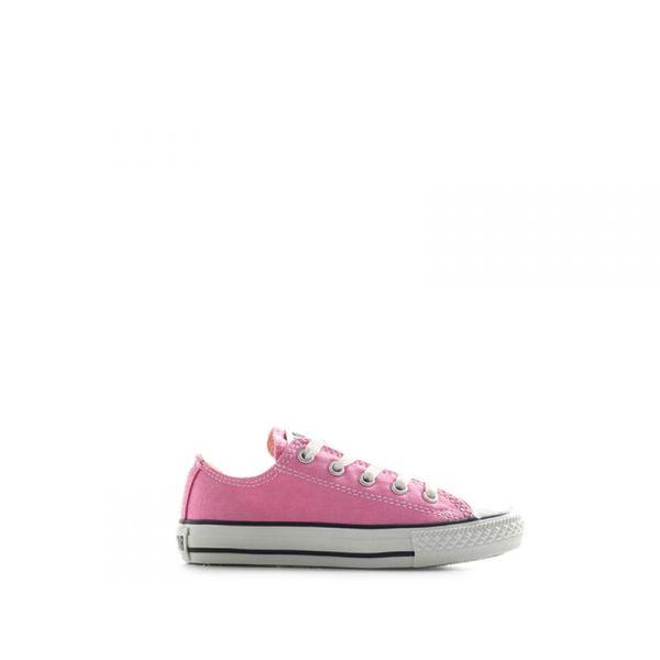 CONVERSE CHUCK TAYLOR Sneaker trendy bimba rosa in tessuto