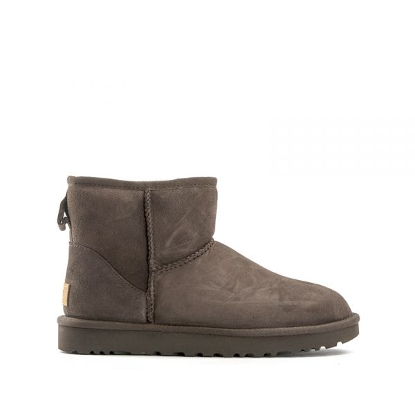 UGG W CLASSIC MINI II donna marrone in suede