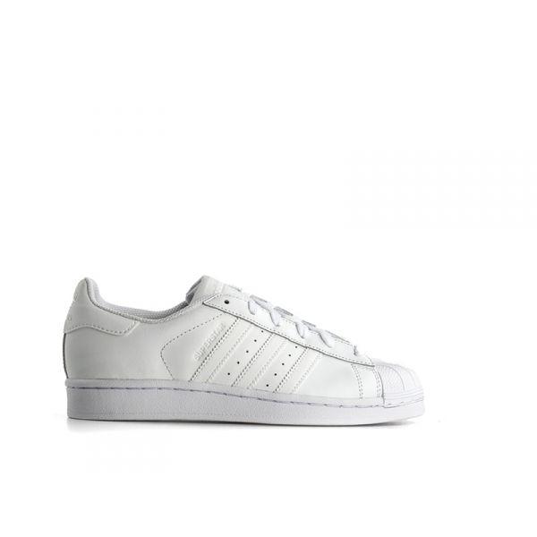 ADIDAS SUPERSTAR FOUNDATION Sneaker ragazzo bianca