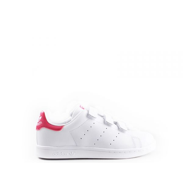 ADIDAS STAN SMITH Sneakers bambino bianco/viola in pelle