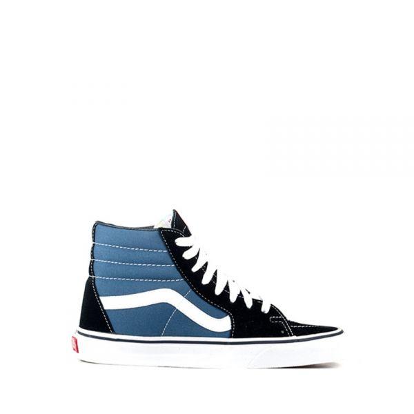 VANS SK8-HI Sneaker donna blu/nera in tessuto