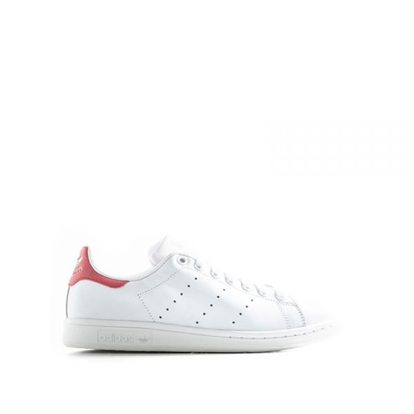ADIDAS STAN SMITH Sneaker donna bianca/rossa in pelle