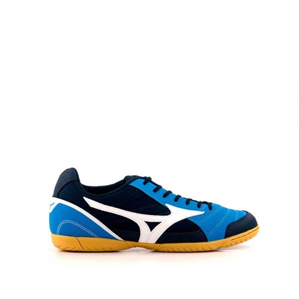 MIZUNO SALA CLUB Scarpa calcetto uomo azzurra/blu tessuto