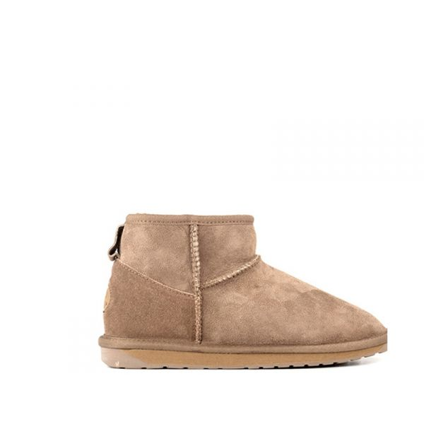 EMU Stivaletto donna marrone in suede