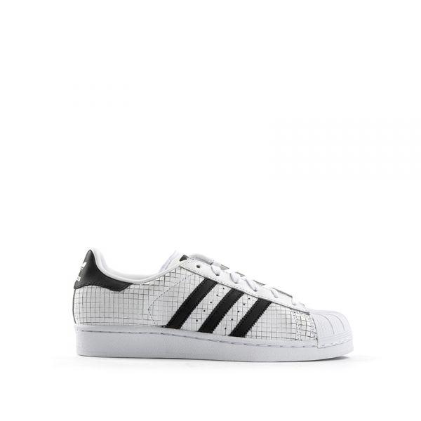 ADIDAS SUPERSTAR Sneaker donna bianca  b95c787aa5c