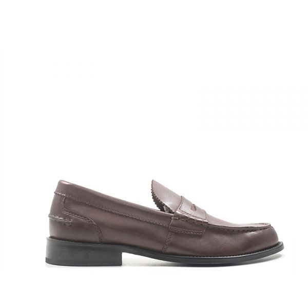 CLARKS Mocassino uomo marrone in pelle