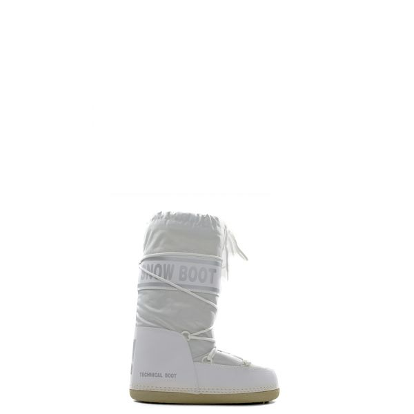 BOOT Boot donna bianco in tessuto