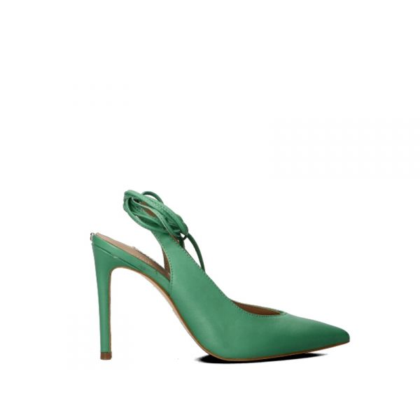 GUESS Slingback donna arancione in pelle