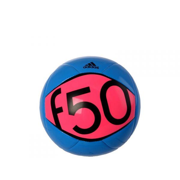 ADIDAS F50 Pallone da calcio celeste/rosa